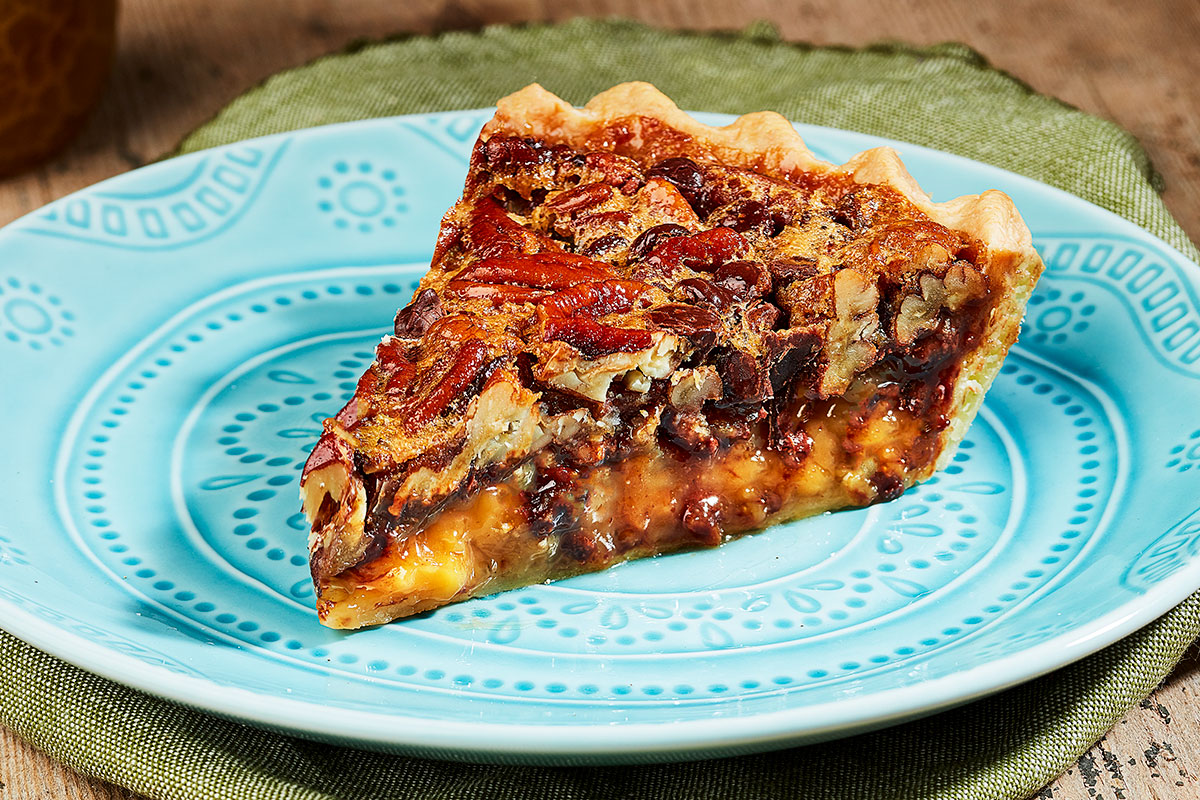 Try our creative take on our classic Southern Pecan Pie this holiday season!
